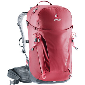 Deuter Trail 26 Zaino, cranberry/graphite